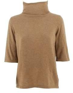 Base London Women's Brown Wool Jumper.