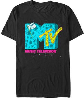Fifth Sun Black MTV Moon Logo Tee - Men