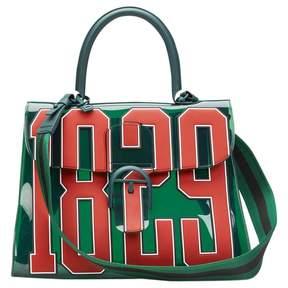 Delvaux Green Plastic Handbag