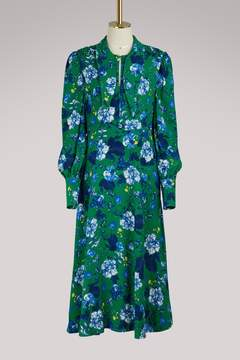 Erdem Ellera long-sleeved dress
