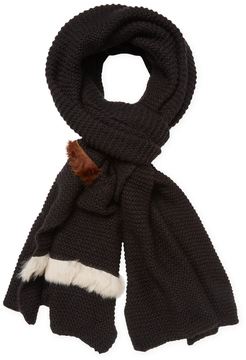 Donni Charm Women's Donni Parallel Wool Long Scarf, 120 x 30