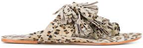 Figue Scaramouche cheetah print sandals