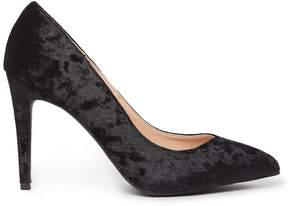 Dorothy Perkins Black Velvet 'Evie' Court Shoes