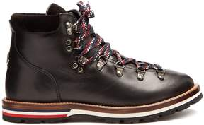 Moncler Blanche leather ankle boots