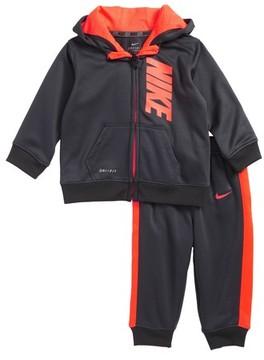 Nike Infant Boy's Ko Therma-Fit Fleece Hoodie & Pants Set