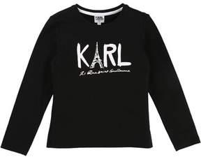 Karl Lagerfeld Eiffel Tower Graphic Tee, Size 2-5