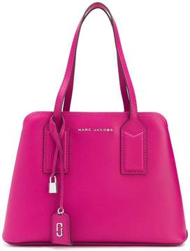 Marc Jacobs logo plaque tote bag