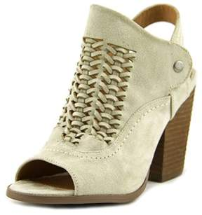 Not Rated One More Time Women Open-toe Canvas Slingback Sandal.