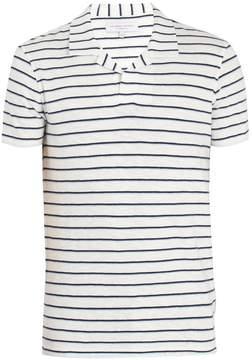 Orlebar Brown Felix striped cotton polo shirt