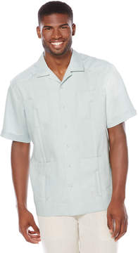 Cubavera 100% Linen Short Sleeve 4 Pocket Guayabera