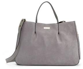 Milly Astor Ruffle Suede Tote Bag