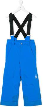 Spyder braced straight trousers