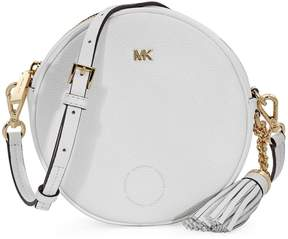 Michael Kors Mercer Medium Canteen Crossbody Bag- Optic White - ONE COLOR - STYLE