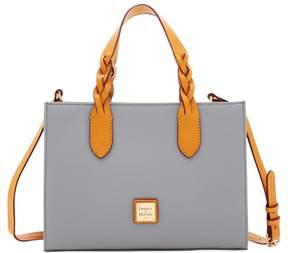 Dooney & Bourke Eva Braid Gia Satchel - SMOKE GREY - STYLE