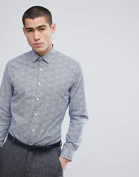 French Connection Mini Floral Slim Fit Shirt