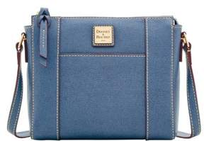 Dooney & Bourke Saffiano Lexington Crossbody Shoulder Bag - GRAPHITE - STYLE