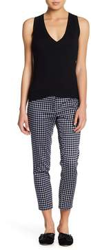Atelier Luxe Plaid Cropped Pants (Petite)