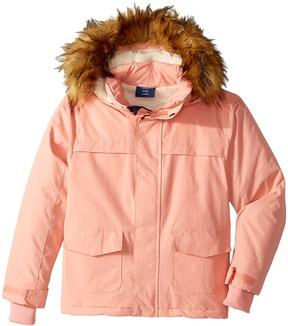 Toobydoo Fleece Lined Parka Jacket Girl's Coat
