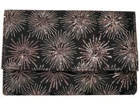 Jessica McClintock Nora Sparkle and Shine Large Envelope Clutch Clutch Handbags