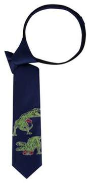 Lord & Taylor Boy's Boxing Dinosaurs Graphic Tie