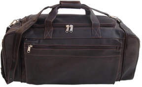 Piel Leather Large Duffel Bag 7708