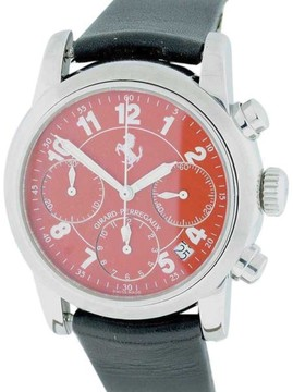 Girard Perregaux Ferrari 80200 Chronograph Stainless Steel Automatic 38mm Mens Watch