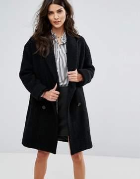 BA&SH Oversized Double Breasted Coat
