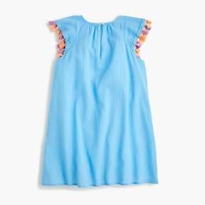 J.Crew Girls' tassel-trimmed dress
