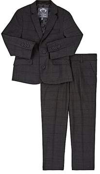Appaman Mod Prince Of Wales Checked Two-Button Suit