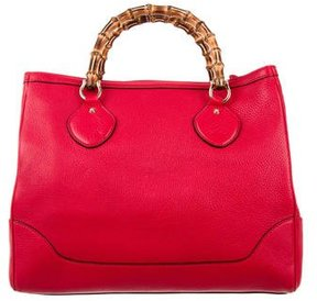 Gucci Medium Diana Tote - RED - STYLE