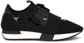 Balenciaga Black Race Runner Sneakers