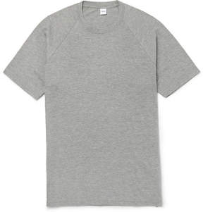 Aspesi Mélange Cotton-Blend Jersey T-Shirt
