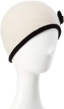 Portolano Yogi Ivory Cashmere Hat