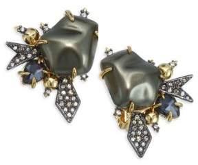 Alexis Bittar Baroque Pearl Burst Clip Earring