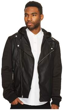 Members Only Sport Biker Jacket Men's Coat