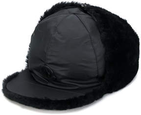 Moncler fur-lined cap