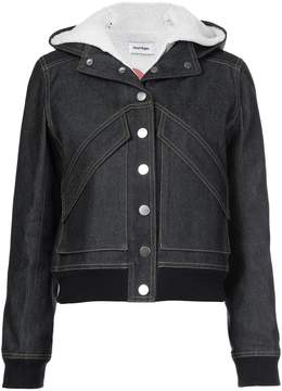 Courreges denim hooded jacket