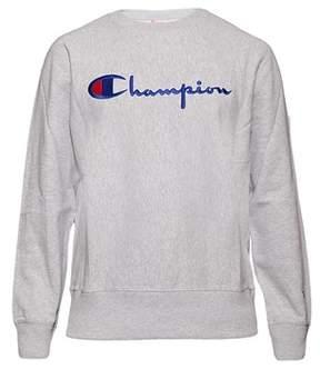 Champion Men's Grey Cotton Sweatshirt.