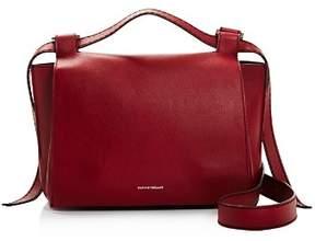 Elena Ghisellini Foxy Medium Leather Satchel