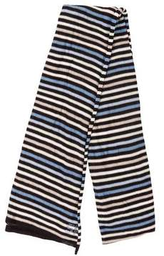 Sonia Rykiel Silk Striped Scarf