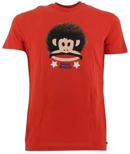 Paul Frank Men's Red Cotton T-shirt.