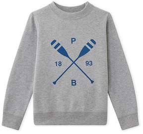 Petit Bateau Boys sweatshirt with message