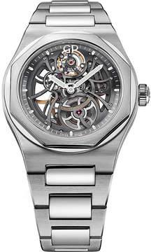 Girard Perregaux Girard-Perregaux 810151100111A Laureato Skeleton stainless steel watch