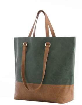 Shiraleah Green Tote Bag