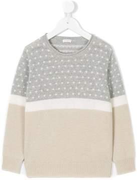 Il Gufo patterned knit jumper