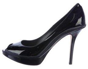 Christian Dior Miss Peep-Toe Pumps