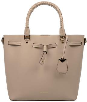 Michael Kors Oat Blakely Leather Top Handle Bag - NATURAL - STYLE