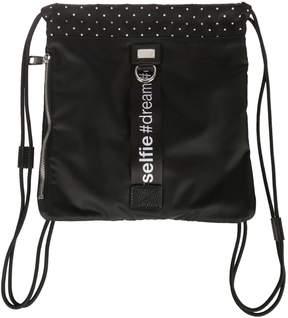 Dolce & Gabbana Drawstring Backpack - BLACK - STYLE