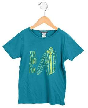 Bonpoint Boys' Surf Print Short Sleeve T-shirt