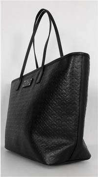 Kate Spade Black Leather Margareta Tote Bag
